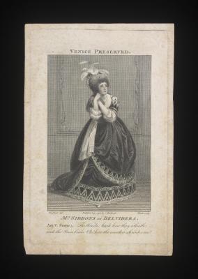 Mrs Siddens as Belvidera (1783)
