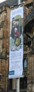 William Hunter exhibition banner