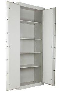 double door cigarette safe cabinet