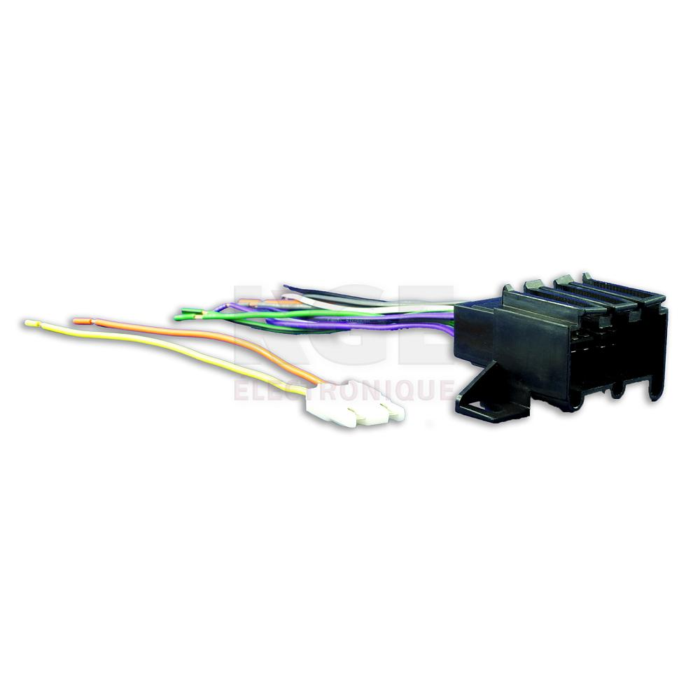 medium resolution of 12 pin wire harness for 4 speakers for gm