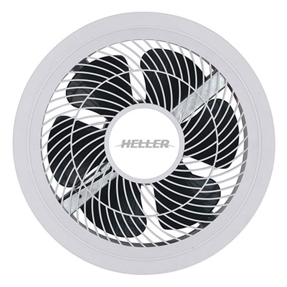 Heller White 250mm Blade Extractor Bathroom Laundry Exhaust Fan W Led Light 9312737030139 Ebay