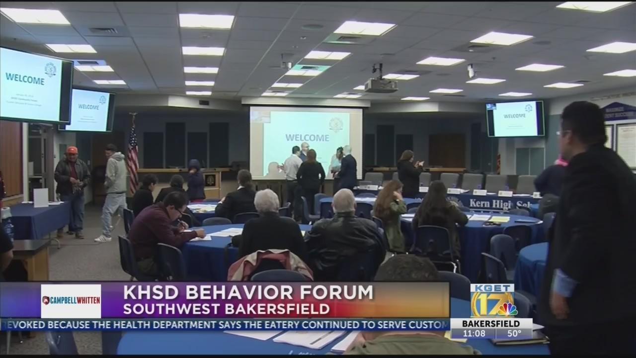 KHSD behavior forum