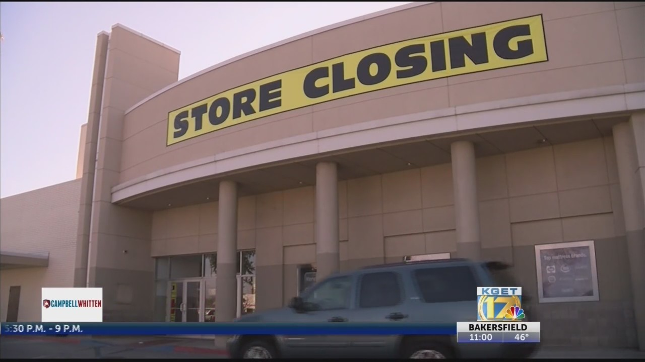 Valley Plaza Sears, Delano Kmart closing this weekend