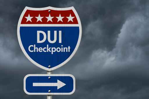 American DUI Checkpoint Highway Road Sign_1554659775978