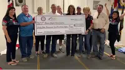 Honor Flight receives largest single donation