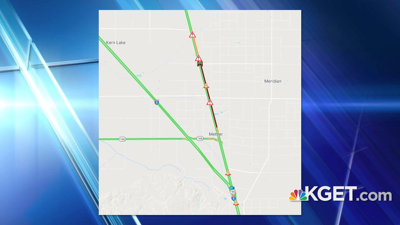 Multi-vehicle crash delayed northbound Highway 99 traffic