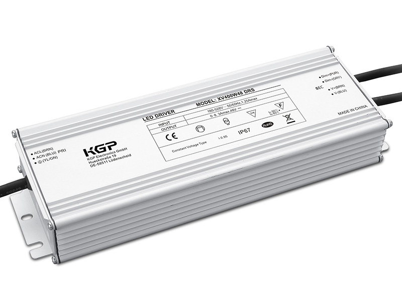 Outdoor IP67, Constant Voltage LED Driver with 96W and 12