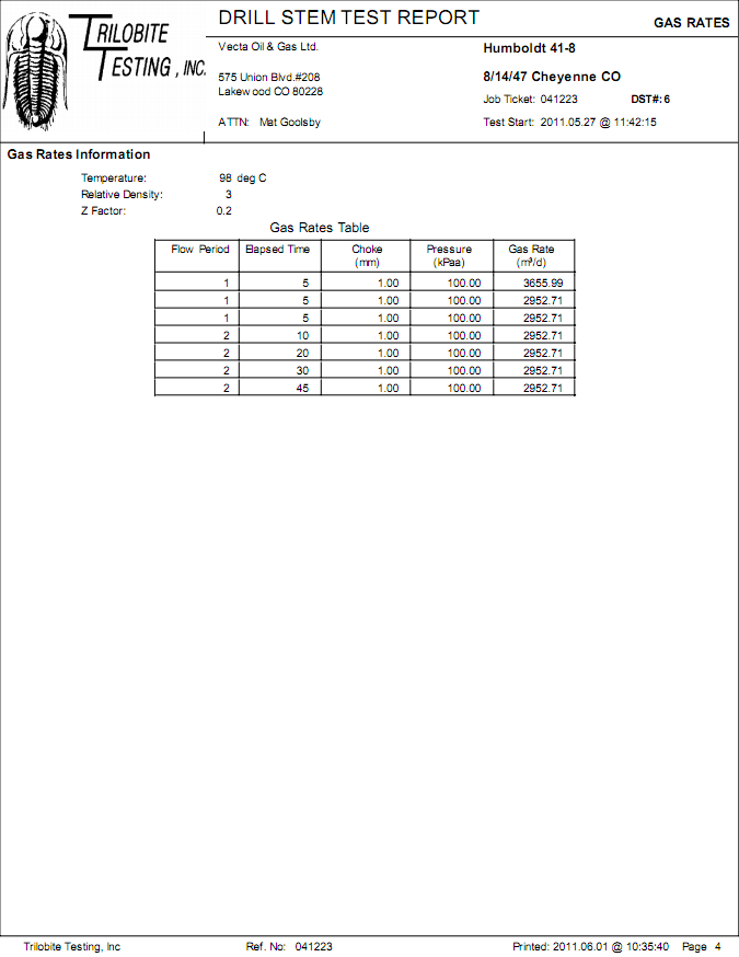 HELP: Drill Stem Test Date Entry Panels
