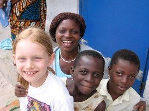Isabel, Mary, Fafali and Sister