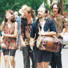 Rhythm Monsters, Leslie, Tom, David, Fred