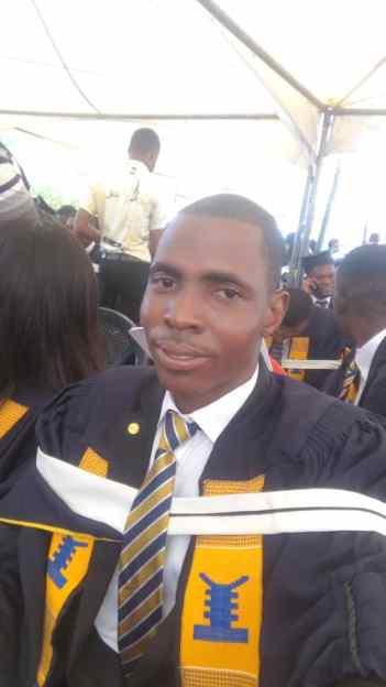 Godwind Sodzedo graduates