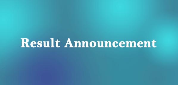 Result Announcement