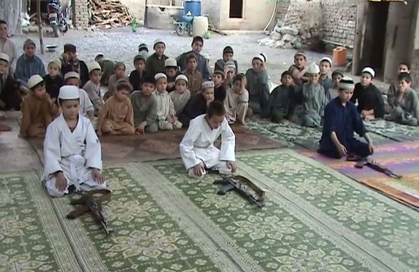 Image result for madrasa child soldiers
