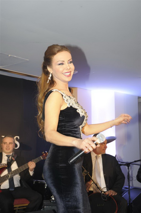 Rola Saad in Performance- 2