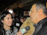 Wissam Chahine on the Red carpet talking to TV Asia USA and his Anchor Jakes