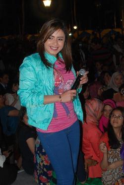 ياسمين نيازى تتألق فى حفل جامعة 6 أكتوبر خبر عاجل