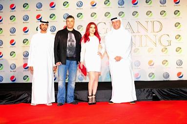 Khaled Al shafi & Fares Karam & Haifa Wehbe & Salem El Hendi