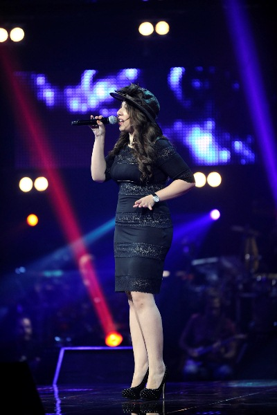 MBC1 & MBC MASR The Voice S2 ep4 - Sahar Al Sadiki Assi's team