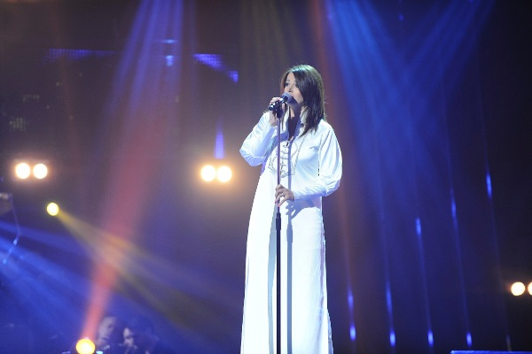 MBC1 & MBC MASR The Voice S2 - episode2 - Nancy Nasrallah - Saber's Team  (2)