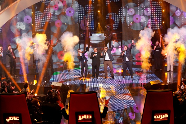 MBC1 & MBC MASR The Voice S2 - Live Round - Live2 - Medley by the 16 contestants