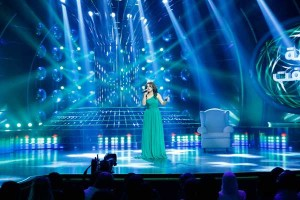 MBC4 & MBC MASR- Your Face Sounds Familiar- Dima Kandalaft impersonating Najwa Karam (2)