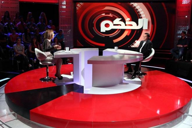 MBC1 Al Hokom - Mohamed Hneidi with Wafaa Al Kilani
