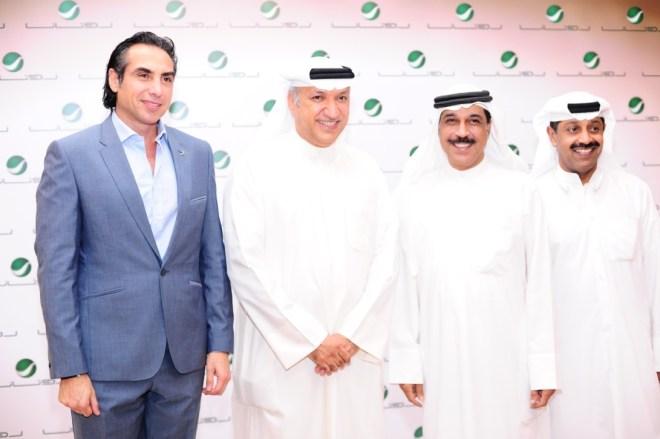 Mr Salem, Mr Firas with AlRuwasihed & Saleh Aman