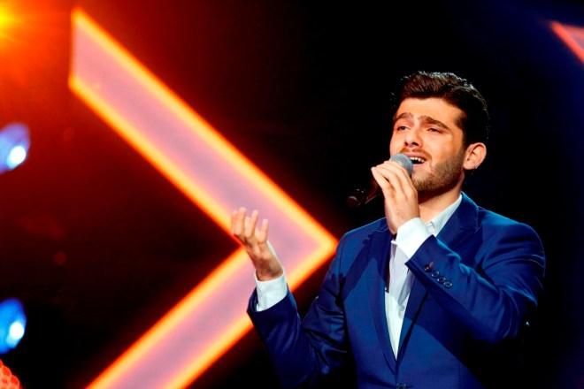 MBC1 & MBC MASR Arab Idol S3 - Live Round -  Ammar Al Koufi (2)