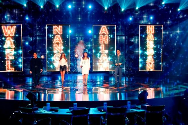 MBC1 & MBC MASR Arab Idol S3 - Live Round - Jury entrance (2)