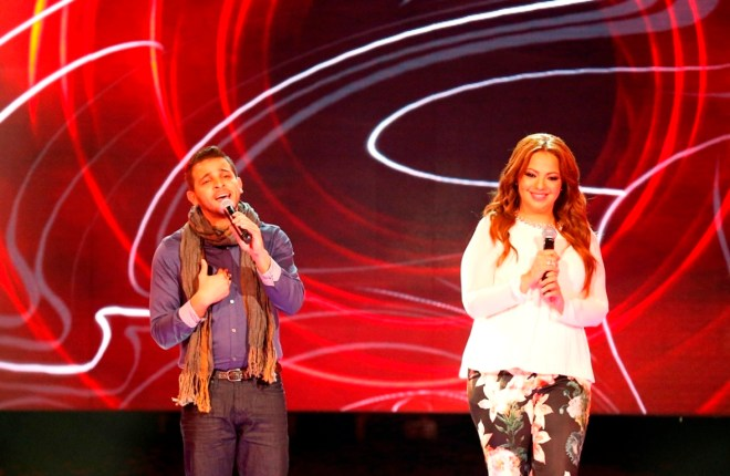 MBC1 & MBC MASR Arab Idol S3 - Live Round -  Results episode- Machup Mohamad Rashad and Sahar Abou Shourouf