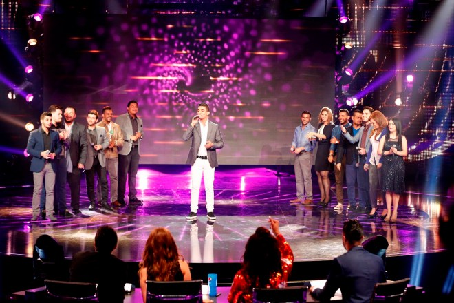 MBC1 & MBC MASR Arab Idol S3 - Live Round -  Results episode- Medley with Mohamad Assaf