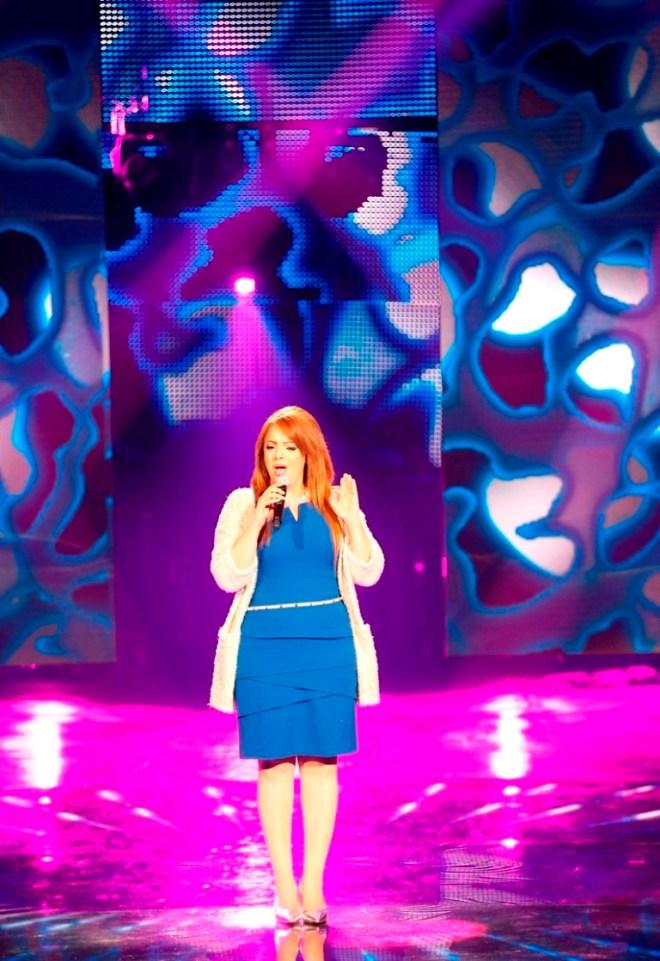 MBC1 & MBC MASR Arab Idol S3 - Live Round -  Sahar Abou Shourouf (2)