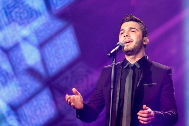 MBC1 & MBC MASR Arab Idol S3 - Live Round - Hazem Sharif