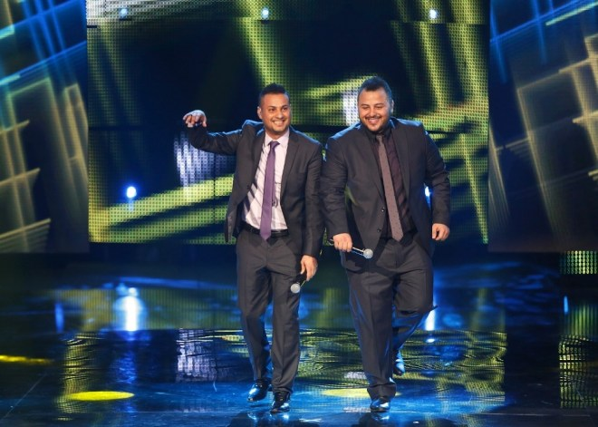 MBC1 & MBC MASR Arab Idol S3 - Live Round - Medley Walid Al Gilani and Majed Al Madani (2)