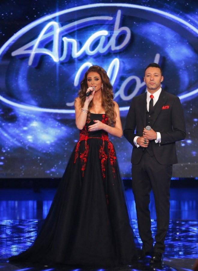 MBC1 & MBC MASR Arab Idol S3 - Live Round -  Results episode -  Annabella Hilal and Ahmad Fahmi