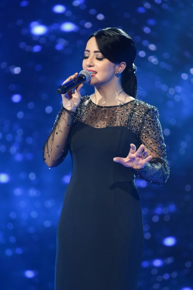 MBC1 & MBC MASR Arab Idol S3 - Live Round -  Results episode -  Manal Moussa- Goodbye song