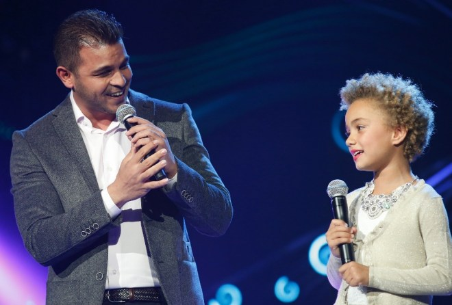 MBC1 & MBC MASR Arab Idol S3 - Live Round -  Results episode - Mohamad Rachad and Ciel Tawil (3)