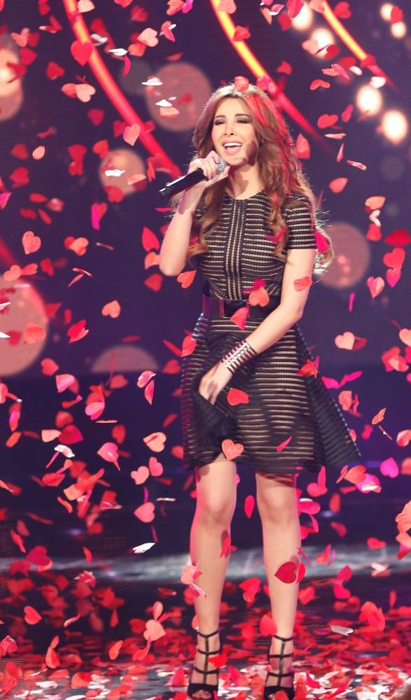 MBC1 & MBC MASR Arab Idol S3 - Live Round -  Results episode - Nancy Ajram (6)