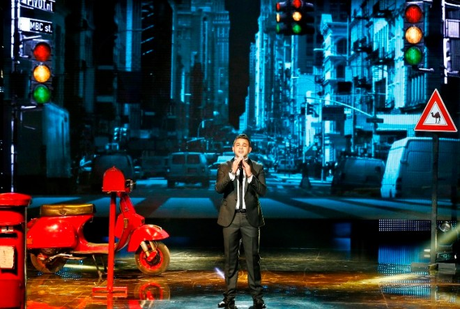 MBC1 & MBC MASR Arab Idol S3 - Live Round - Mohammed Rashad