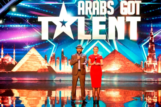 MBC4 & MBC MASR Arabs Got Talent S4 - Live 5- Raya Abi Rached and Qusai  (800x533)