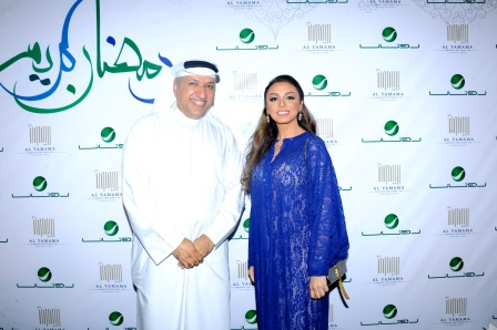 Angham & Mr Salem Al Hendi