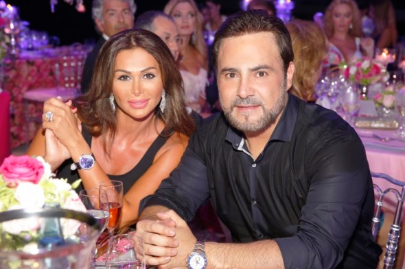 Assi El Hallani With His Wife Mrs. Colette (800x533)
