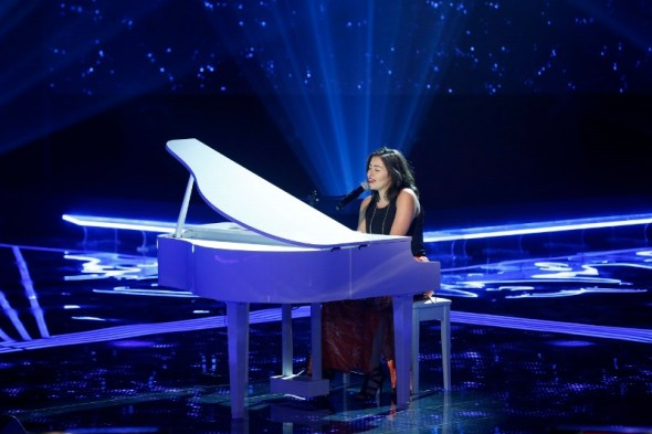 MBC1 & MBC MASR the Voice S3 - Blind 2 - Kadim's team - Christine Said (800x533)