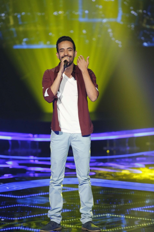 MBC1 & MBC MASR the Voice S3 - Blind 3 - Chirine's team - Mahmoud Obeida (533x800)