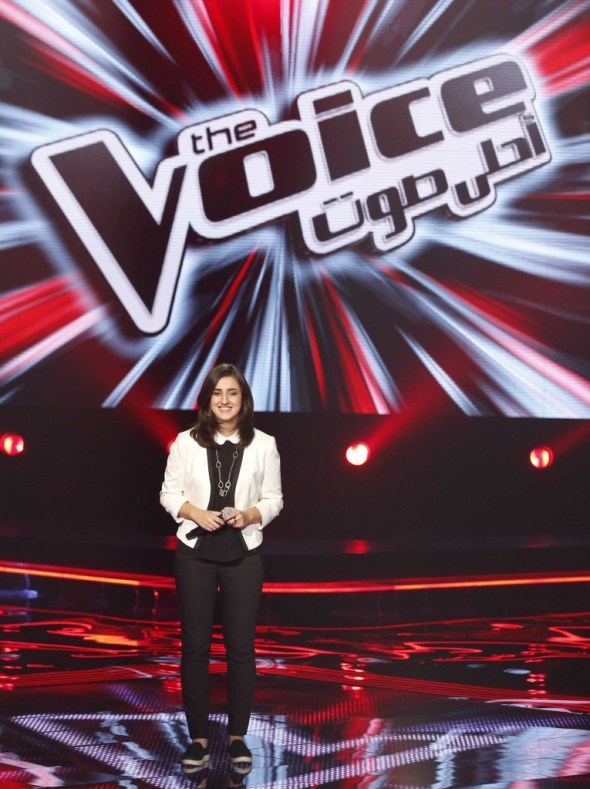 MBC1 & MBC MASR the Voice S3 - Blind 3 - Saber's team - Lana Abu Daher