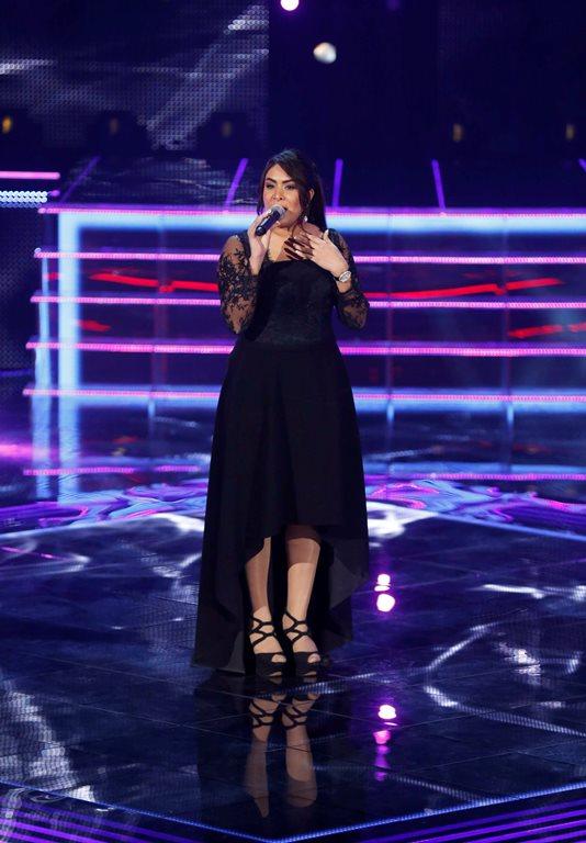 MBC1 & MBC MASR the Voice S3 - Live 1 - team Kadim - Najat Rajoui