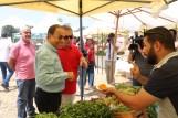 Minister of Economy and Trade Mr. Mansour Bteich - President of Fair Trade Lebanon NGO Mr. Samir Abdel Malak