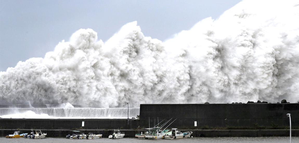 जापानमा भिषण आँधी, मृत्यु हुनेको संख्या ३७ पुग्यो