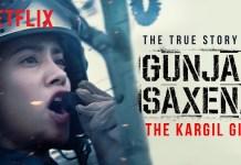 gunjan saxena the kargil war poster