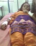 अस्पताल में मोनिका